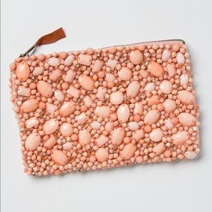 Anthropologie Jewel in the Rough Pouch
